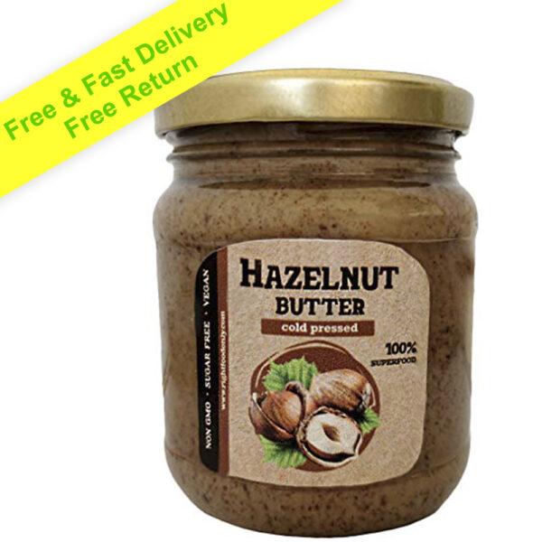 Hazelnut Butter Urbech RAW 8 oz (230g)
