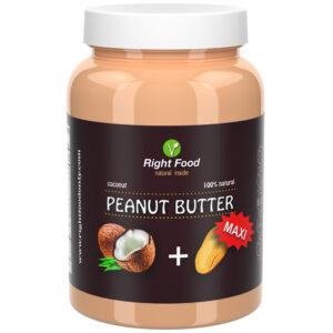 Coconut Peanut Butter 1kg Jar | Natural Vegan Sugar-Free Spread | Vegetable Protein | 100% Superfood