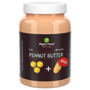 Peanut Butter & Honey 1kg | Keto Butter | No Sugar Added | Vegetable Protein | Vegan Sweet (Honey Peanut Butter)