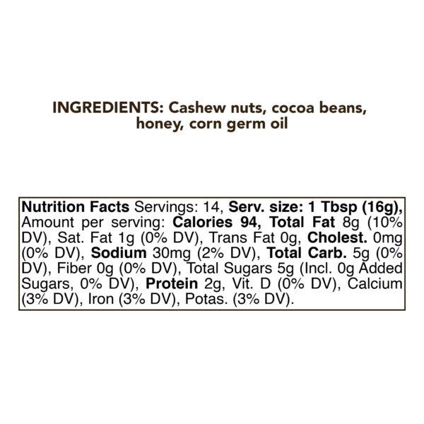 cashew chocolate NF 01 01 01