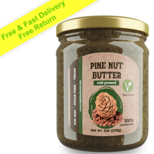 Pine Nut Butter 230g (8 Ounce) RAW