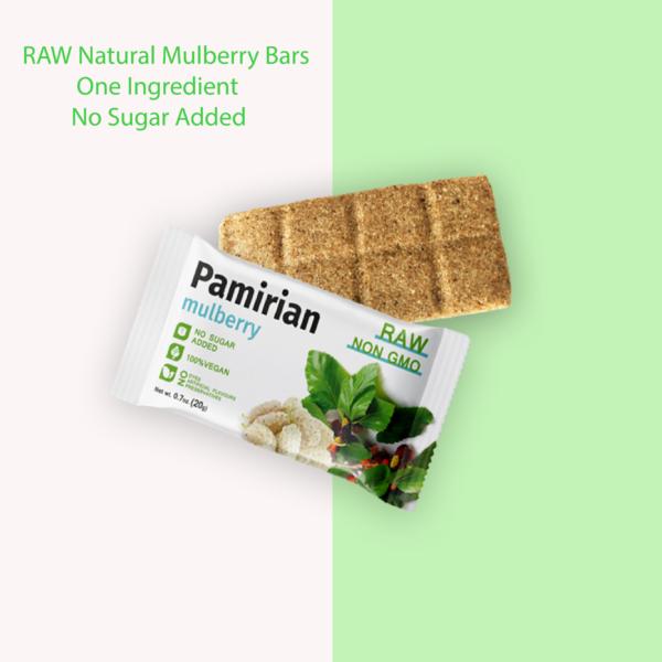 mulberry bars organic