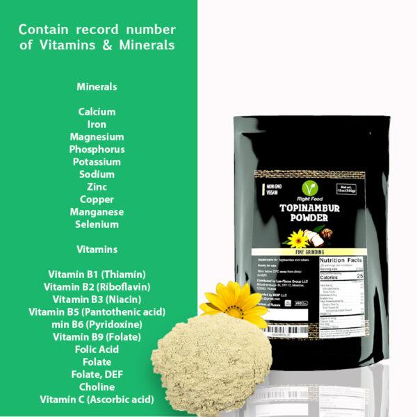 topinambur flour