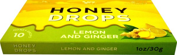 Honey Hard Candy - 100% Pure Honey Lemon and Ginger 4