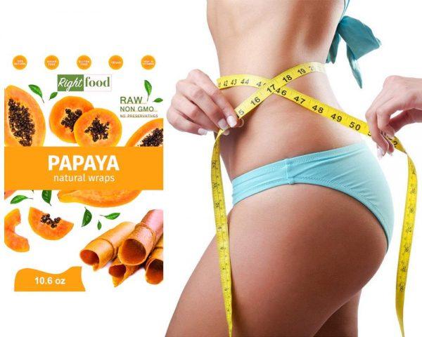 RAW Vegan Fruit Leather 10.6 oz (300 g) - Papaya Dehydrated Sheets 3