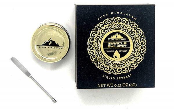 Himalayan Shilajit Resin - Authentic Mumie 100% Natural Liquid Paste 60 Servings (6 g) 4