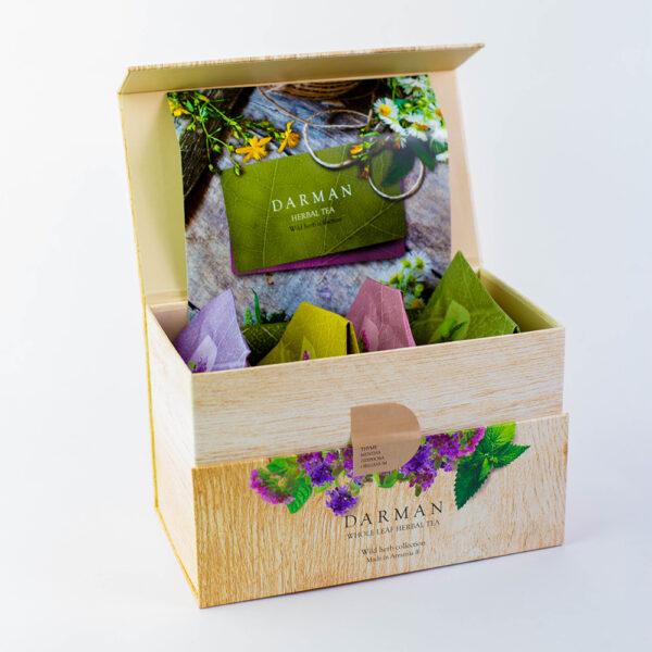Armenian Herbal Tea (80gr)   4 Flavors - 20g Each 2