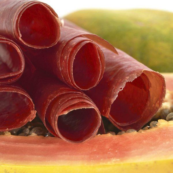 RAW Vegan Fruit Leather 10.6 oz (300 g) - Papaya Dehydrated Sheets 11