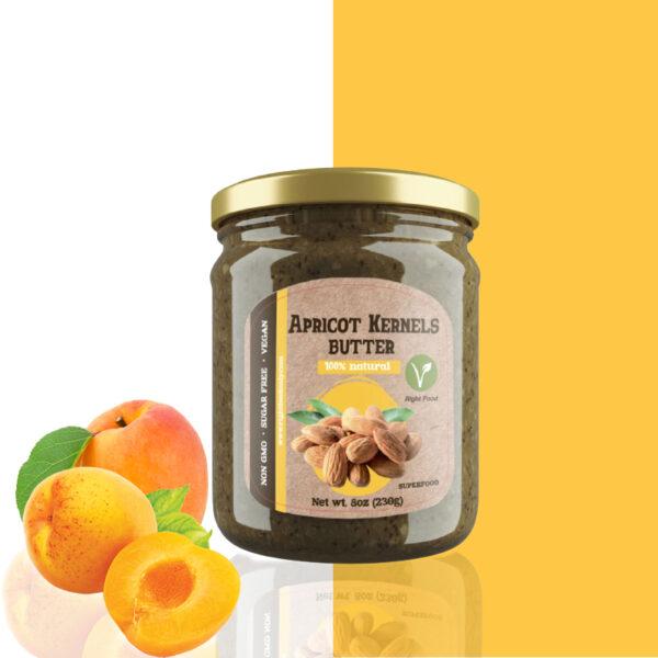 Apricot Kernels Butter (230 g) 8 oz Urbech 1