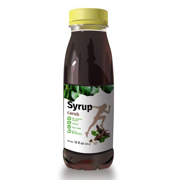 Pure Premium Carob Syrup - No Sugar Added - Vegan Molasses - Natural Sweetener 1