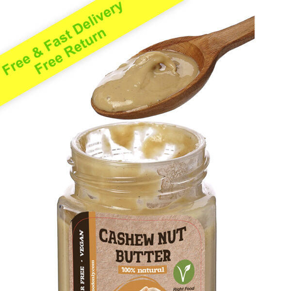 Cashew Nut Butter Spread 230g (8 oz) | No DYEs | One ingredient | No Added Sugar Urbech | All Natural | 100% Superfood