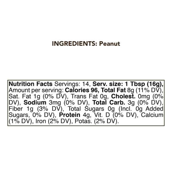 Peanut Butter 230g (8oz) 1
