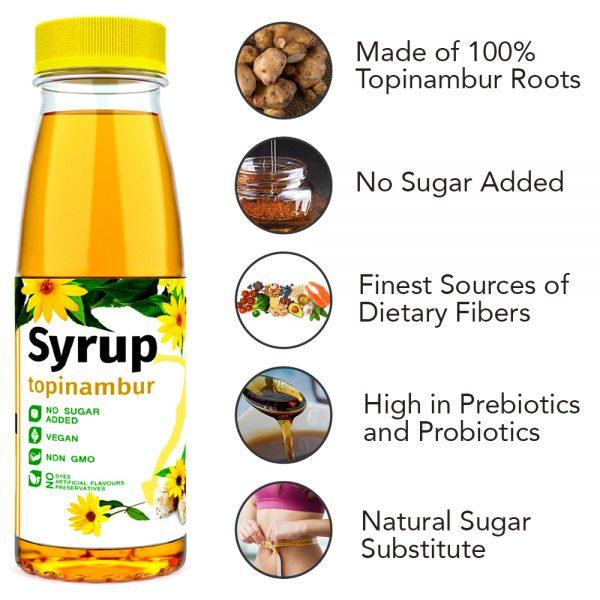 Topinambur Syrup | Sugar Free 1