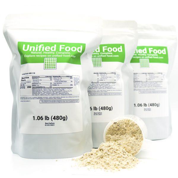 U Food - Unified Food - 1 Pack (1.06 lb) Nutritionally Complete Food 2